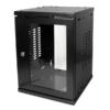 Logilink 10 SOHO Wallmount Enclosure 8HE 312x300mm, assembled, black (W09Z33B)