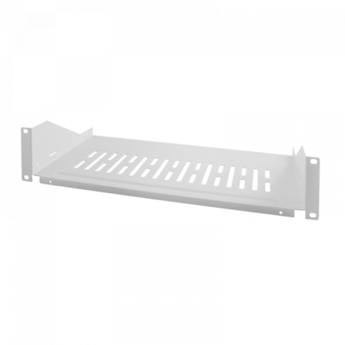 Logilink 19 Cantilever Shelf, Front Screw Fixing d=250mm, Light Grey (SF2C35G)