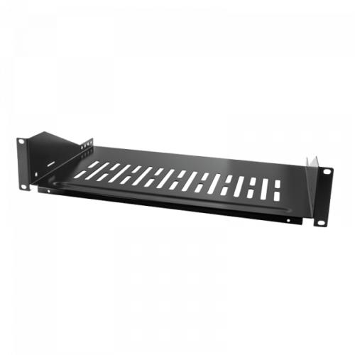Logilink 19 Cantilever Shelf, Front Screw Fixing d=400 mm, Black (SF2C45B)
