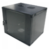 Logilink 19 Wallmounted Single-Section Box 6U 540X450mm, disassembled, dark grey (W06F64B)