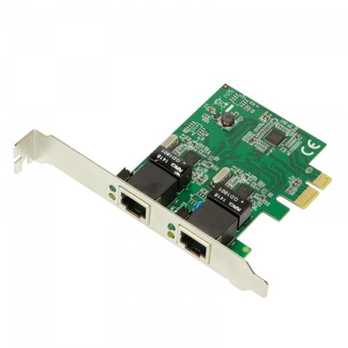 Logilink 2-Port Gigabit LAN PCI-Express Karte (PC0075)