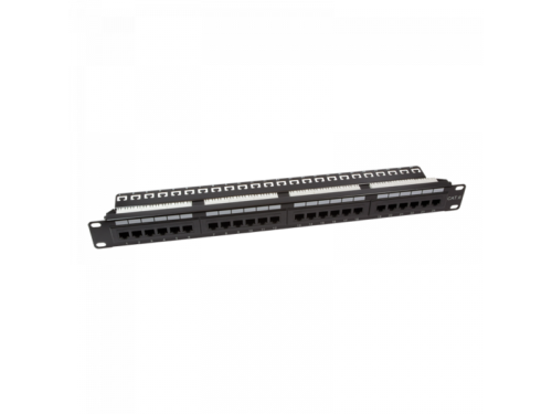 Logilink CAT6 Patch Panel 19 24-Port unshielded, RAL 9005 (NP0004A)