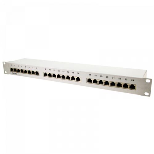 Logilink Patch Panel 19 CAT5e 24-Port shielded (NP0036)