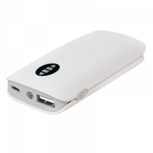 Logilink Powerbank, 4000 mAh, White