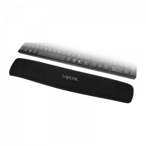 Logilink Tastatur Gel Handballenauflage schwarz (ID0044)