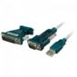 Logilink USB 2.0 zu Seriell Adapter, 9+25 Pin (UA0042A)