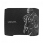 Logilink XL Gaming-Mousepad, 330 x 250 mm, black with imprint (ID0135)