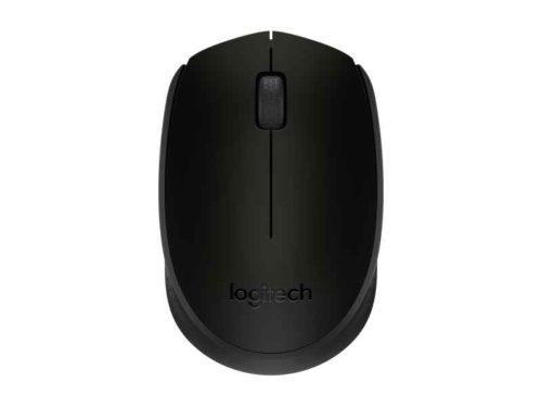 Logitech B170 RF Wireless Optical Ambidextrous Black mice 910-004798