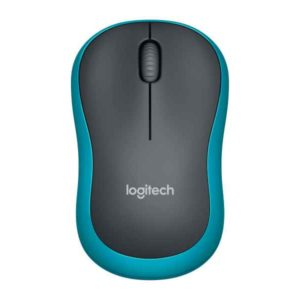 Logitech LGT-M185B - Mouse - 1,000 dpi Optical - Blue 910-002239