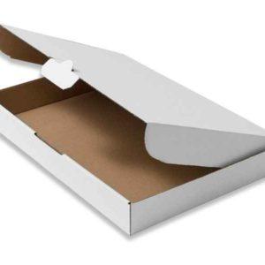 Maxibrief-Cardboard box 35,0 x 25,0 x 5,0cm (DIN A4 - White)