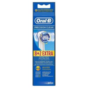 Oral-B Precision Clean Replacement Brush Heads 8+2
