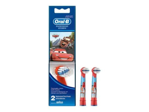 Oral-B Stages Power EB10k Replacement Toothbrush Heads Cars&Planes (2 Pieces)