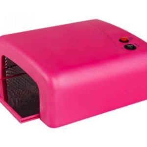 Professional Manicure 36W UV Gel Lamp (Pink)