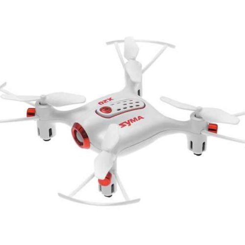 Quad-Copter SYMA X20 2.4G 4-Channel with Gyro (White)