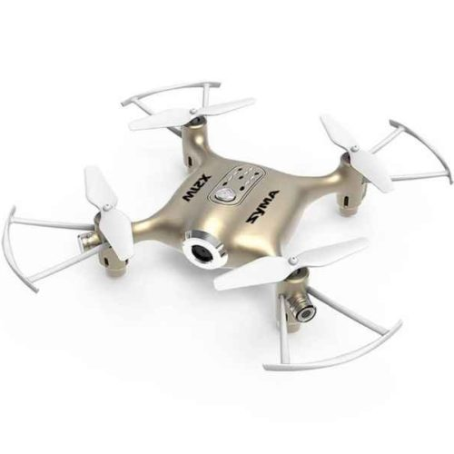 Quad-Copter SYMA X21W 2.4G 4-Channel with Gyro + Camera, WiFi (Gold)