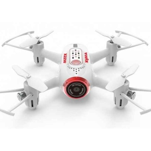 Quad-Copter SYMA X22W 2.4G 4-Channel with Gyro + Camera (White)