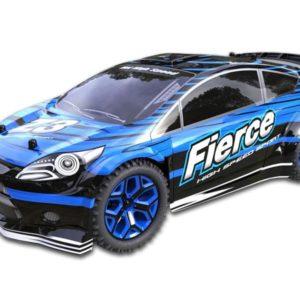 RC Race Car 118 - X-Knight 4WD Fierce 2.4GHz (Fiesta Look, Blue)