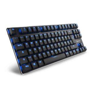 Sharkoon PureWriter TKL USB German Black 4044951017577