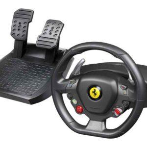 ThrustMaster Ferrari 458 Italia Steering wheel + Pedals PC Black 2960734