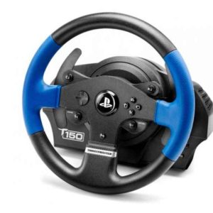 ThrustMaster T150 Force Feedback Steering wheel + Pedals PC - PlayStation 4 - Playstation 3 Black -