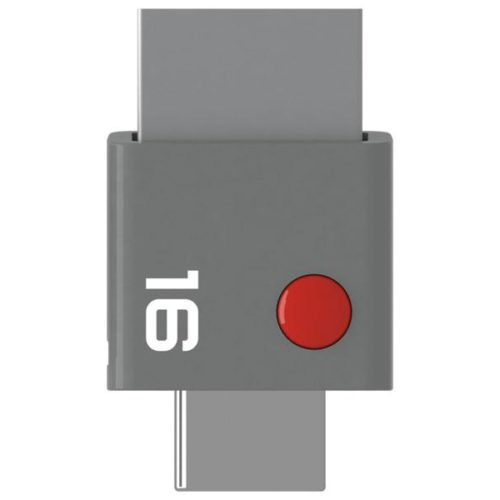 USB FlashDrive 16GB EMTEC T400 DUO USB-C USB 3.0 Grey