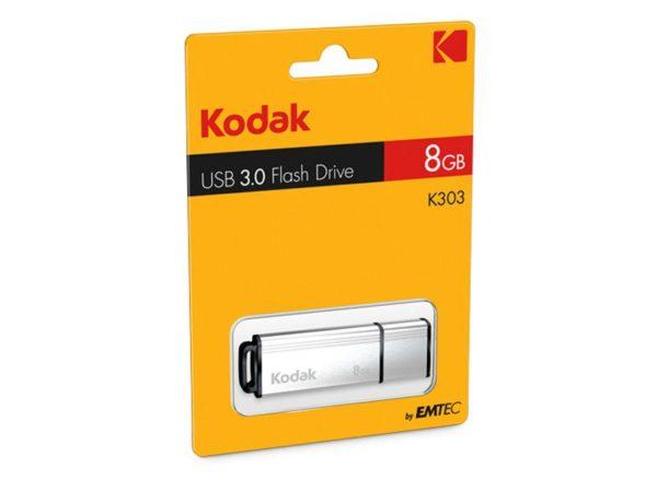 USB FlashDrive 8GB Kodak K300 3.0 (silver)