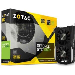 ZOTAC GeForce GTX 1050 Ti OC Edition GeForce GTX 1050 Ti 4GB GDDR5 ZT-P10510B-10L