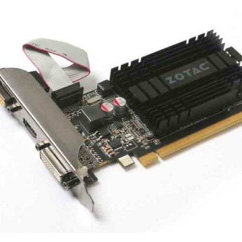 ZOTAC ZT-71301-20L GeForce GT 710 1GB GDDR3 graphics card ZT-71301-20L