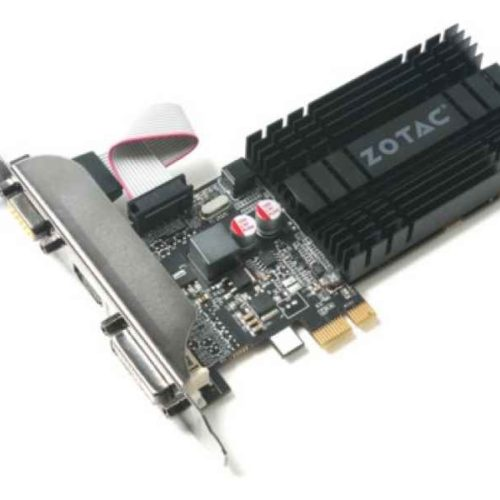 ZOTAC ZT-71304-20L GeForce GT 710 1GB GDDR3 graphics card ZT-71304-20L