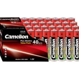 Batterie Camelion Alkaline LR03 Micro AAA (40 pcs Value Pack)