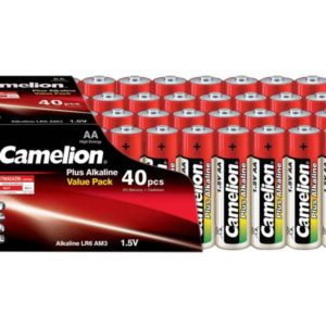 Batterie Camelion Alkaline LR6 Mignon AA (40 pcs Value Pack)