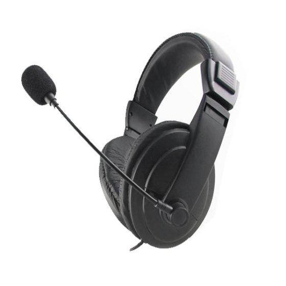 Ακουστικό με μικρόφωνο Black Fiesta FIS7500
