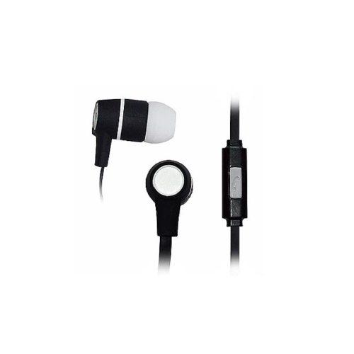 Ακουστικό με μικρόφωνο w/ Flat Cable Μαύρο Vakoss
