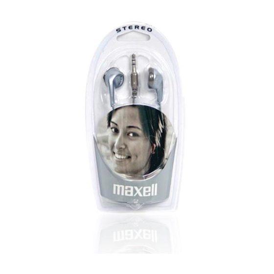 Ακουστικό Earphone Silver Maxell