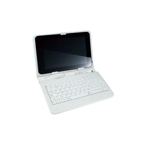 """Θήκη για tablet 7"""" TK-542UW άσπρο με πληκτρολόγιο VAKOSS"""