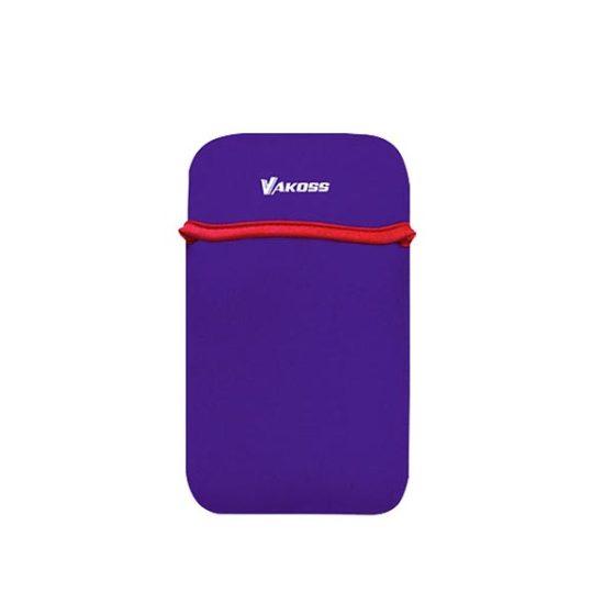 """Θήκη για tablet CT-3862U μωβ από Neoprene έως 7""""  VAKOSS"""