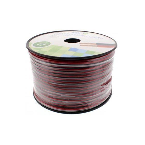 Καλώδιο Ηχείου 100m 2x1.00mm2 CCA Μαύρο/κόκκινο