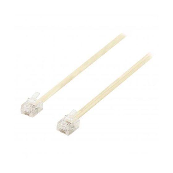 Καλώδιο 3M Λευκο Συνδεσης Rj11 6p4c