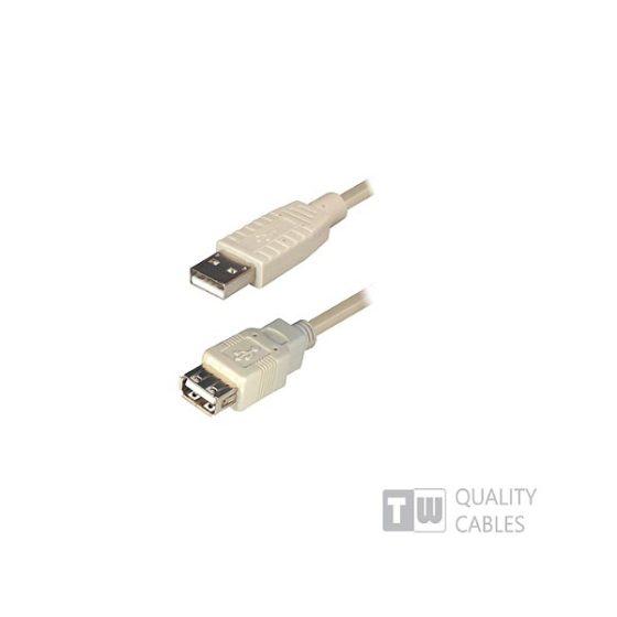 Καλώδιο USB 2.0  3M Α/Μ-Α/F Προέκταση