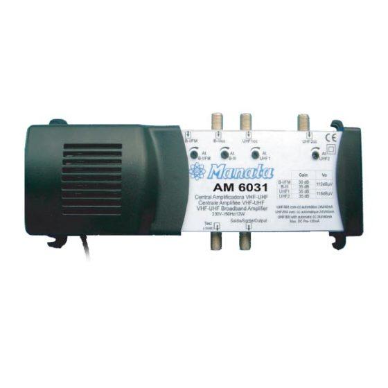 Κεντρικός ενισχυτής ΑΜ-6031 12V 3INPUT 2UHF-1VHF