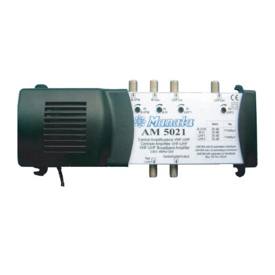Κεντρικός ενισχυτής 4G(21-60) AM-5021 4INPUTS FM/VHF/2UHF