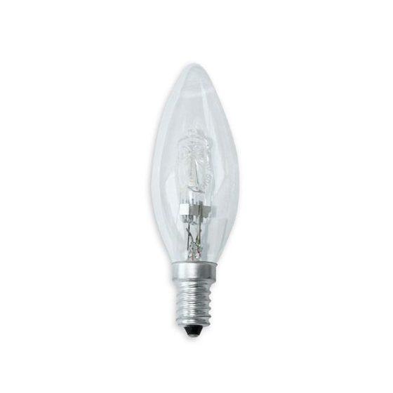 Λάμπα Αλογόνου ECO κερί 42W-E14 clear