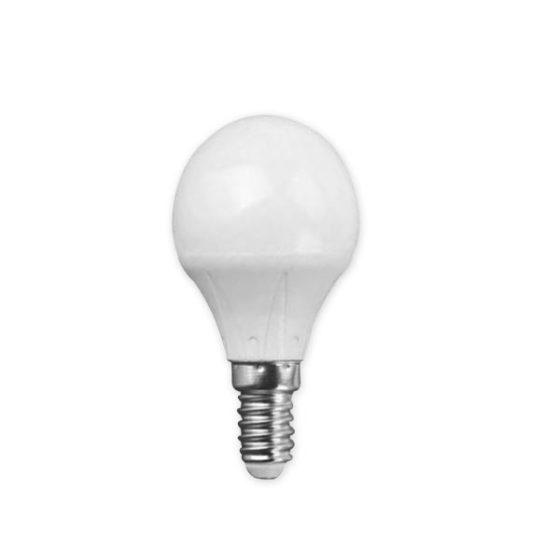 Λάμπα Σφαιρική LED 4W/E14 3000K Θερμό COM