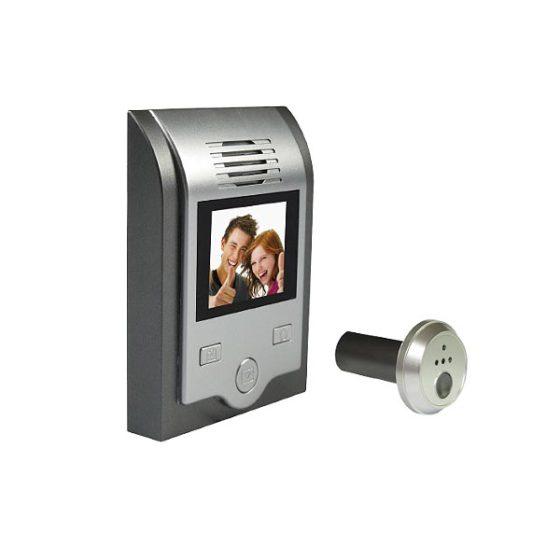 Ματάκι πόρτας KS-201C 02C με οθόνη και κάμερα