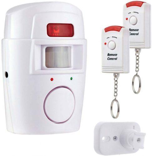 Συναγερμός secure-athome με αισθητήρα κίνησης και δυο τηλεκοντρόλ