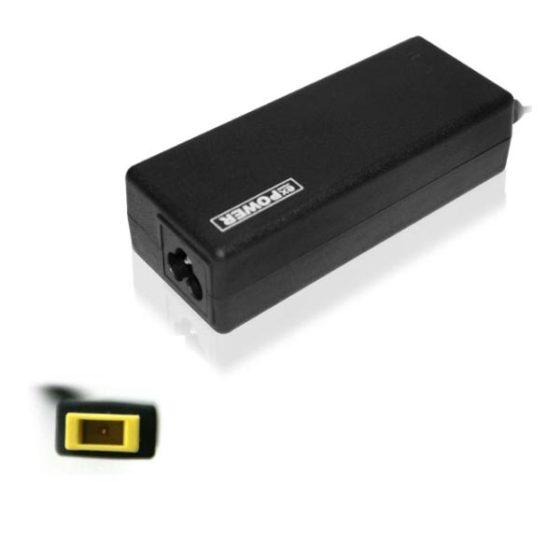 Τροφοδοτικό 20V up to 3.25A square type για LENOVO laptop and more eX-Power