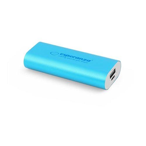 Φορητός Φορτιστής 4400mA Power Bank μπλε EMP105B