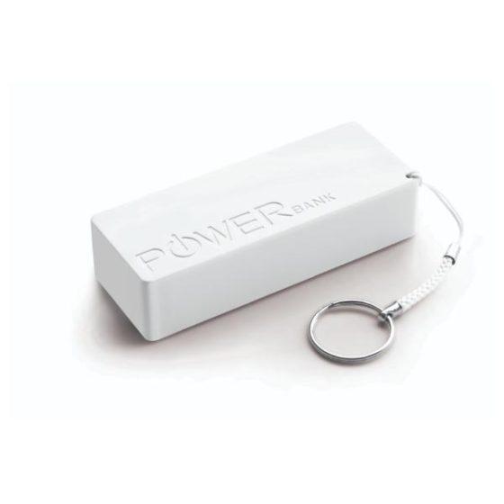 Φορητός Φορτιστής 5000mA  Power Bank άσπρο XMP102W