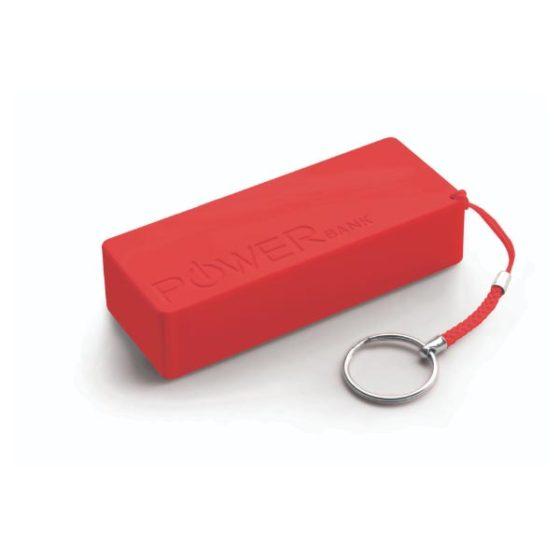 Φορητός Φορτιστής 5000mA  Power Bank κόκκινο XMP102R
