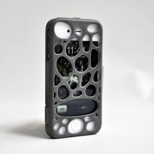 Freshfiber Διπλή Θήκη 3D Macedonia για iPhone 4/4S - Γκρι